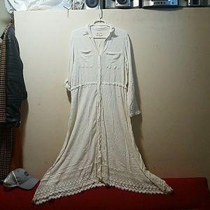Denim and supply Maxi cotton summer dress